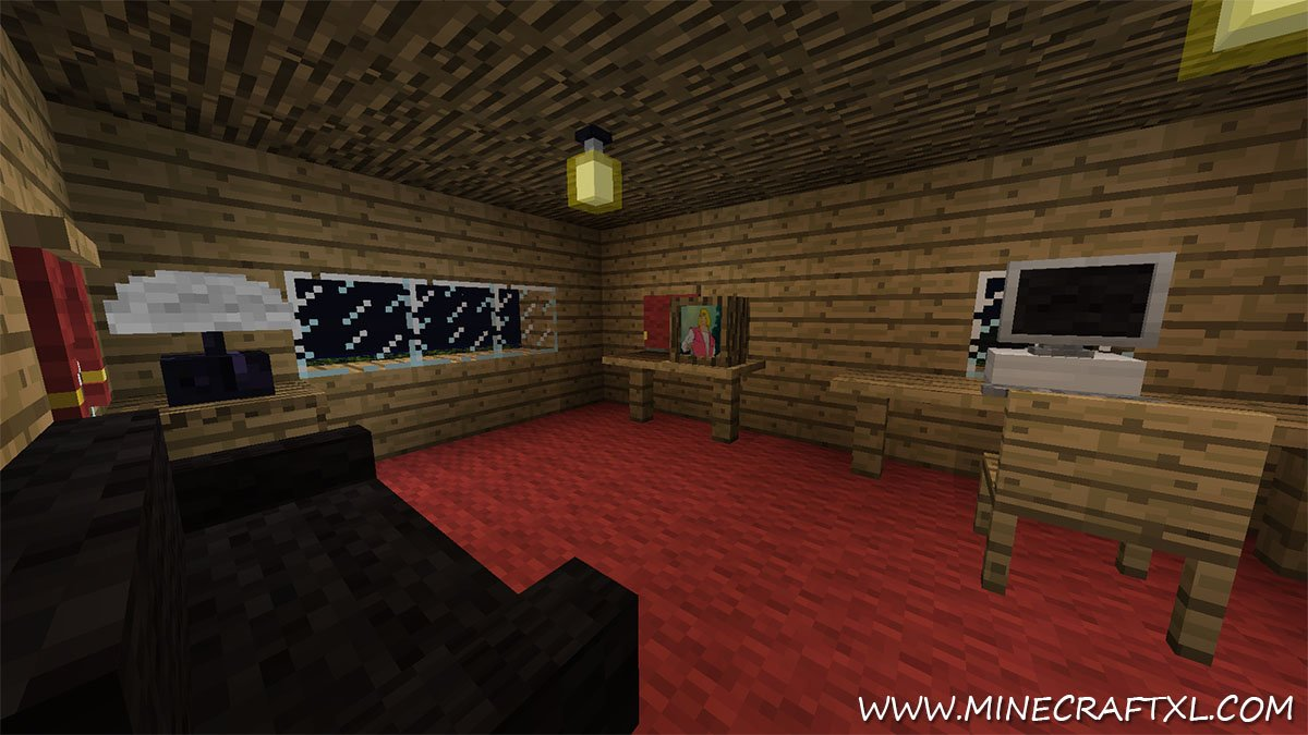 Minecraft Furniture Bedroom furniture mod download for minecraft 1.7.10/1.7.2/1.6.4