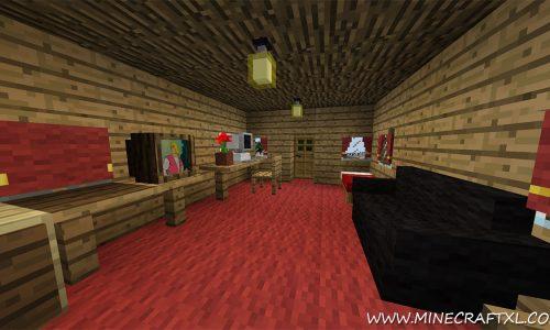 Furniture Mod for Minecraft 1.7.10/1.7.2/1.6.4