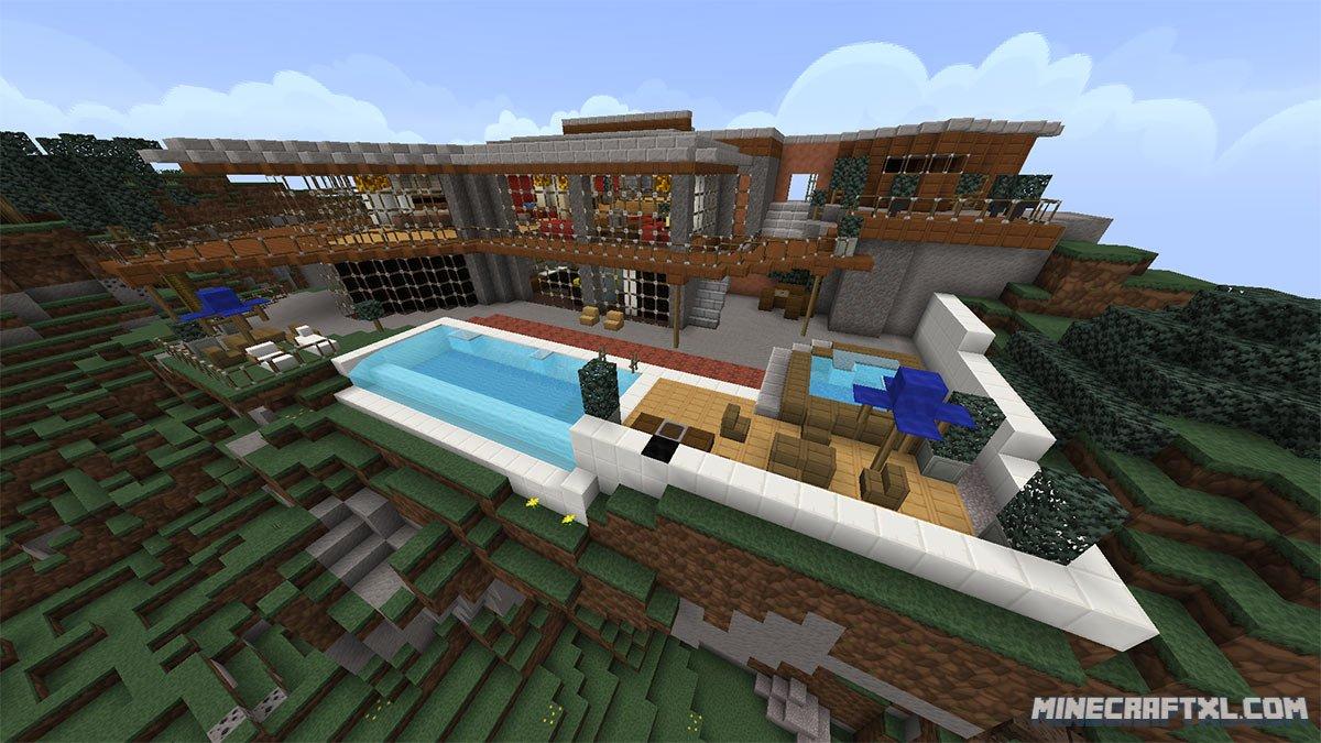 gta v franklin 39 s pad map download for minecraft 1 8. Black Bedroom Furniture Sets. Home Design Ideas