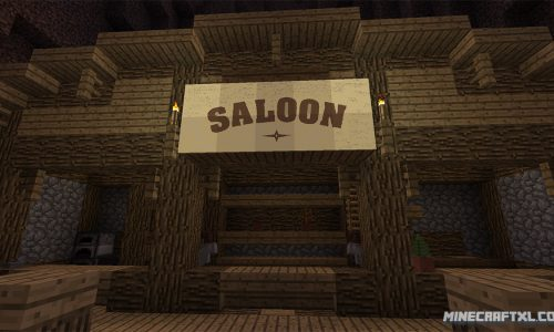 Gold Rush Map for Minecraft 1.8