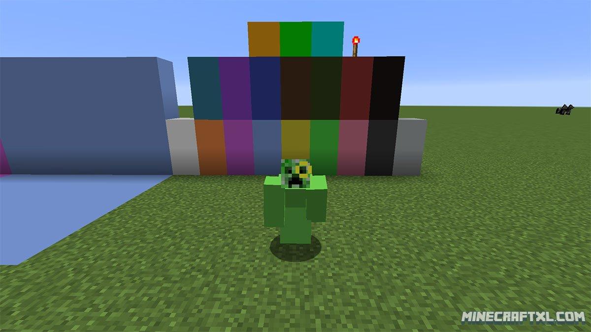 minecraft green screen texture pack