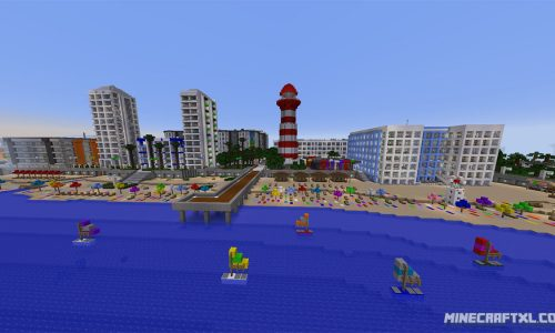 Greenfield Map for Minecraft 1.8/1.7