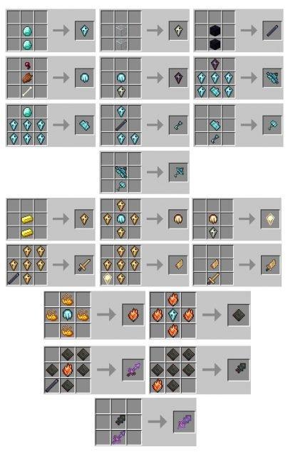 Gods Weapons Mod
