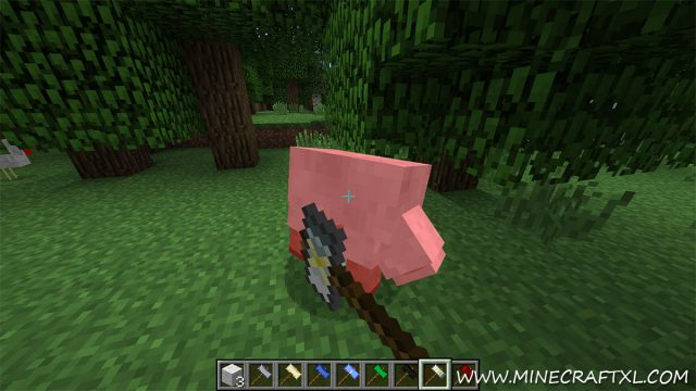 Hammer Mod for Minecraft
