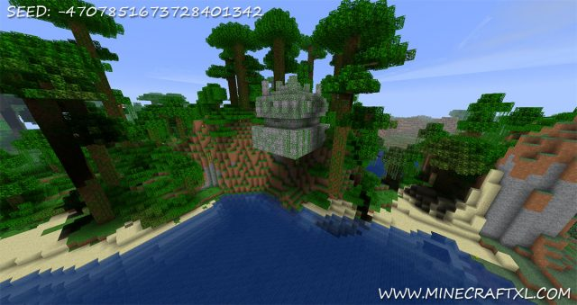 Hanging Jungle Fortress Seed