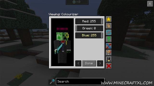 how to change minecraft exit menu