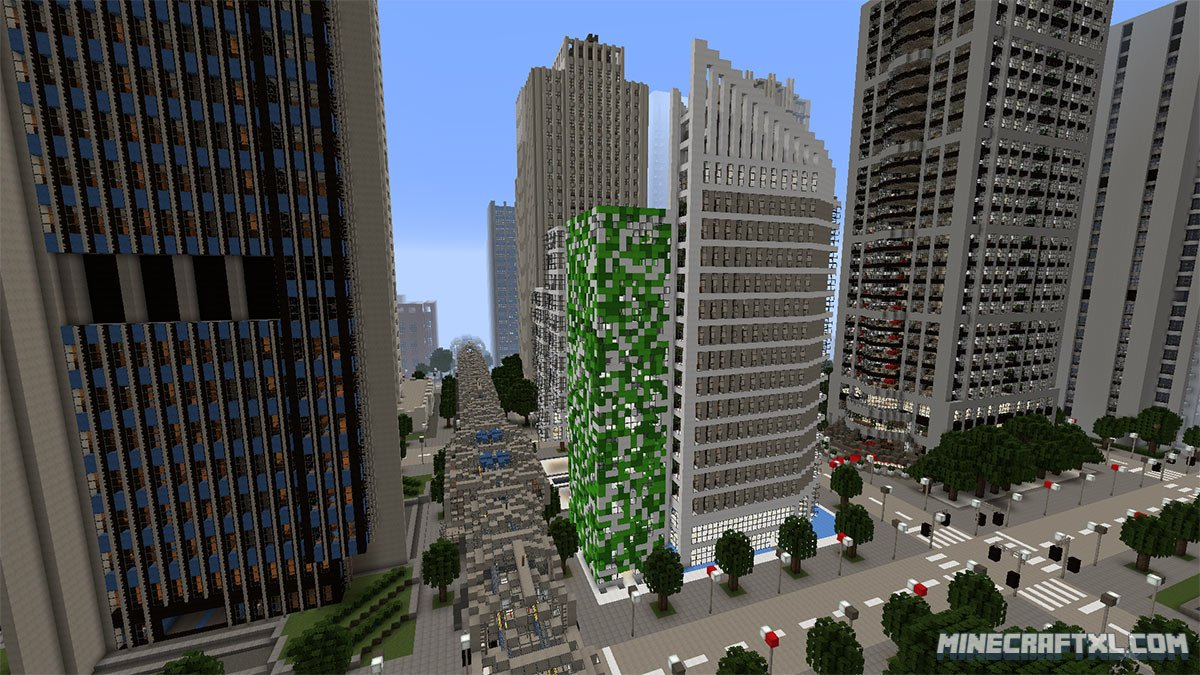 High Rossferry Map  Download for Minecraft 100.100 & 100.10