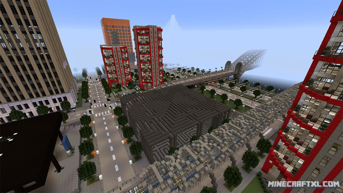 High Rossferry Map  Download for Minecraft 9.9 & 9.9