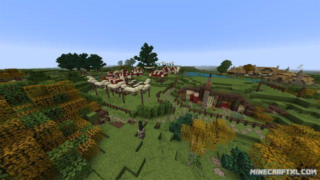 Hobbiton Map