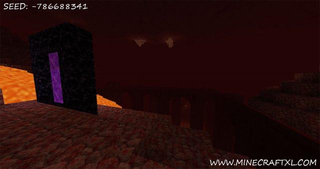 Minecraft Island Village Seed