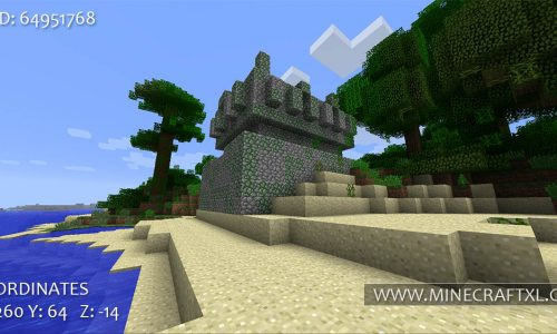 Minecraft Tropical Islands Seed: 64951768