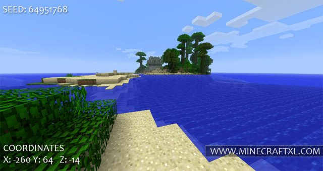Minecraft Tropical Islands Seed