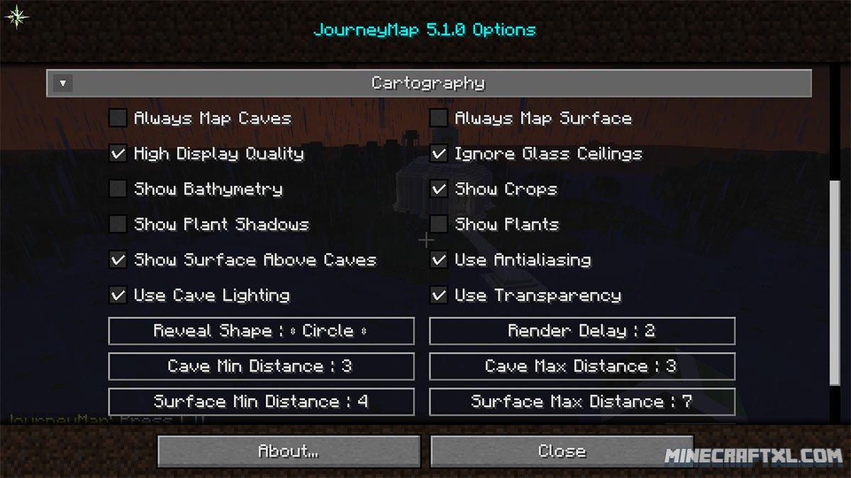 JourneyMap Mod Download For Minecraft MinecraftXL - Journey map para minecraft 1 10 2