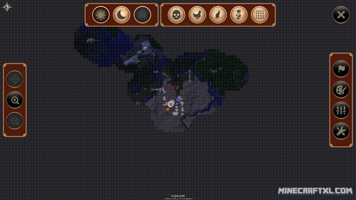 Minecraft Mods Journey Map Best Emirates Map Shenandoah Valley Map - Journeymap map para minecraft 1 11