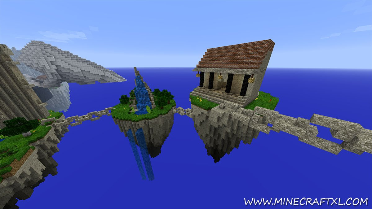 Kingdom of the Sky Adventure Map Download for Minecraft 1.7.2/1.6.4