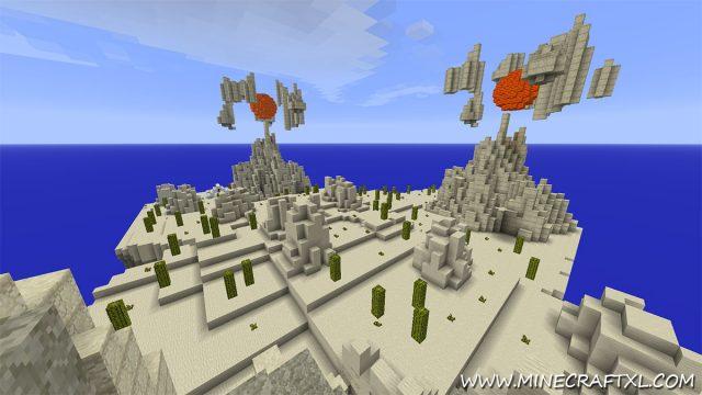 Kingdom of the Sky Map