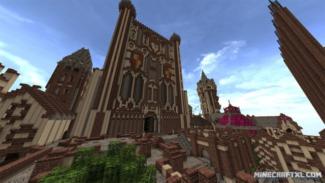 Kings Landing Map for Minecraft
