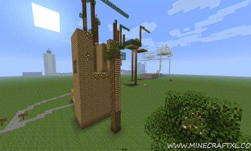 Last Jump Hero Parkour Map for Minecraft 1.7.2/1.6.4/1.6.2