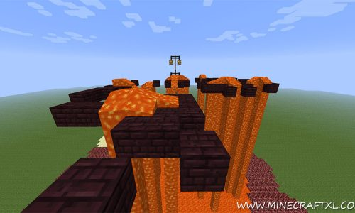 Last Jump Hero: The Sixth World Parkour Map for Minecraft 1.7.2/1.6.4