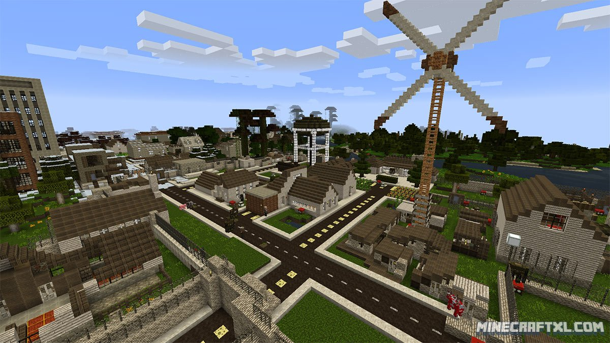 Letters From A Dead Earth Map Download for Minecraft 1.8