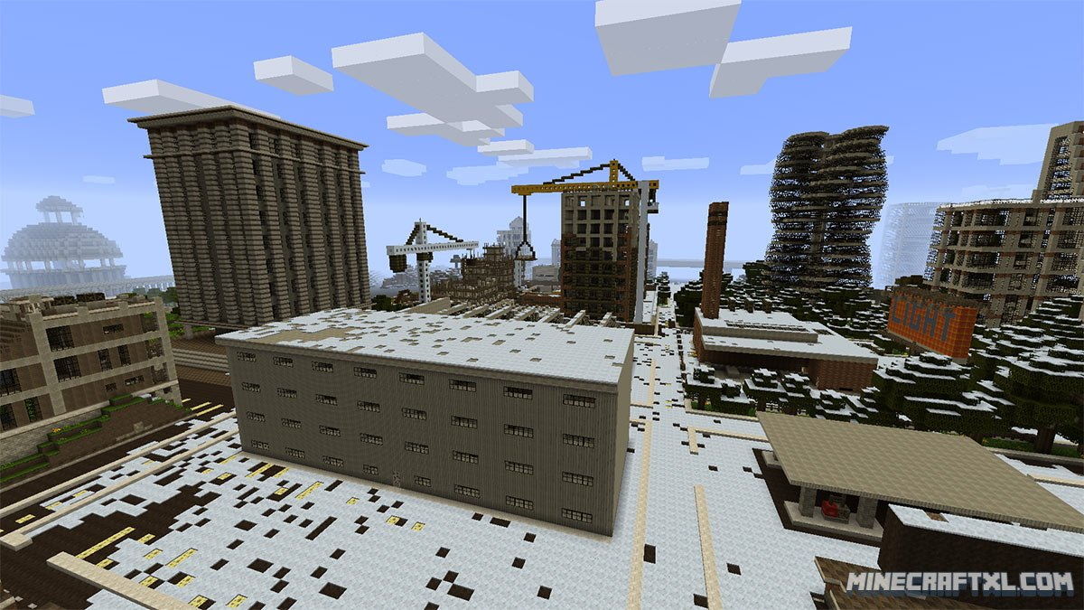 Letters From A Dead Earth Map Download for Minecraft 18