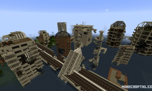 Letters From A Dead Earth Map for Minecraft 1.8
