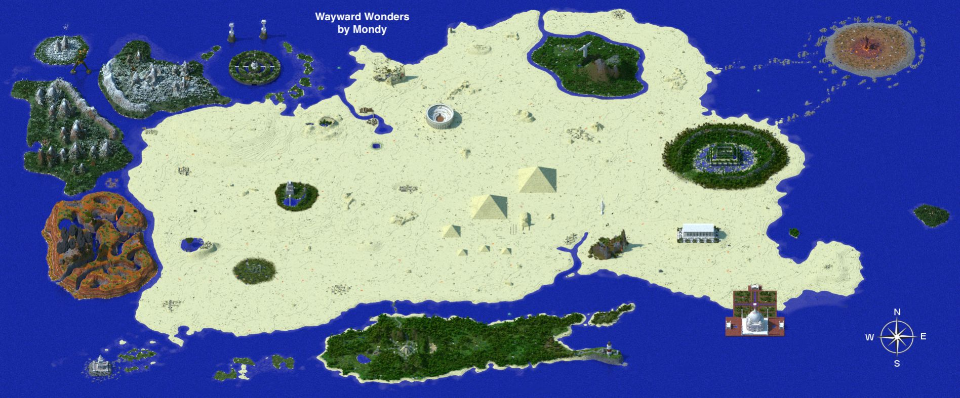 Wayward Wonders CTM Map Download for Minecraft 183