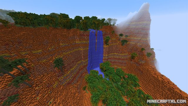 Lost Valley of the Fifteen Waterfalls Map