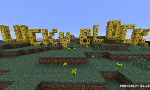 Lucky Block Mod for Minecraft 1.8/1.6