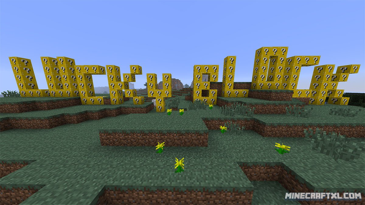 Мод lucky blocks minecraft 1 6 4