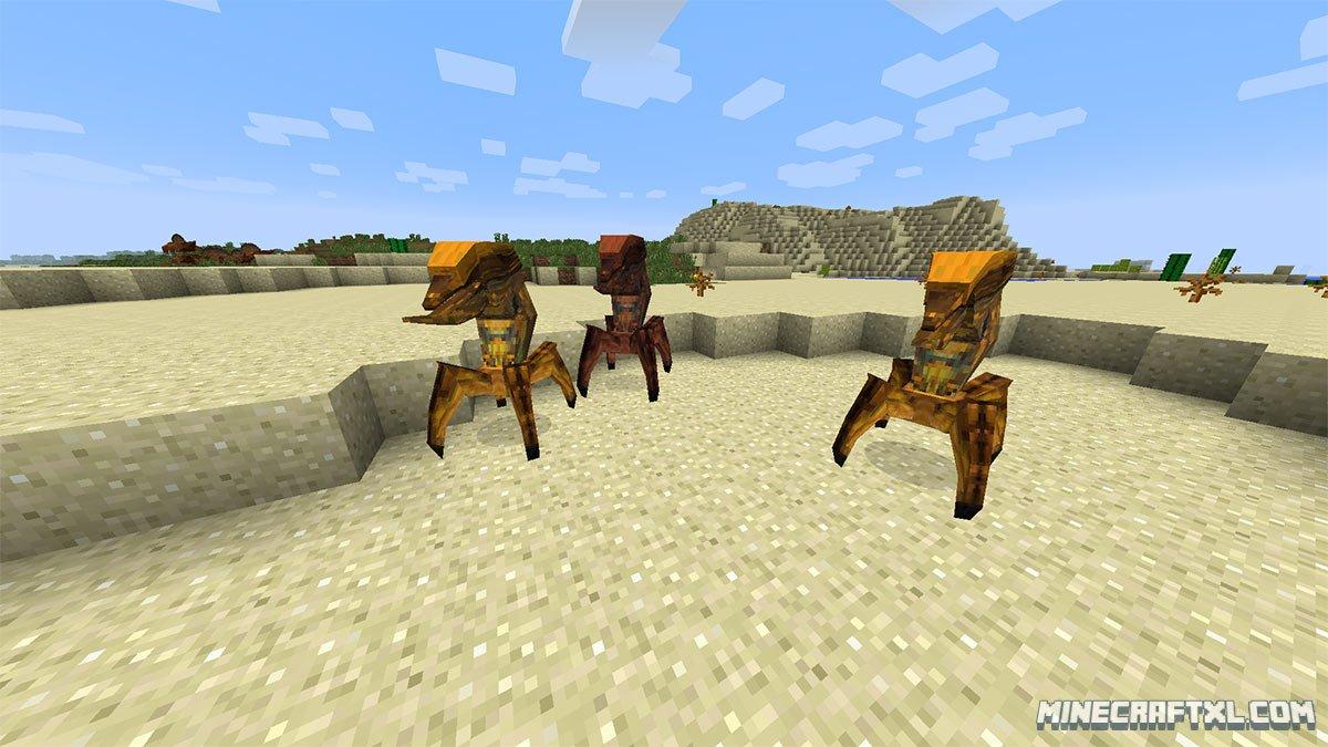скачать мод lycanites mobs для minecraft 1.7.10