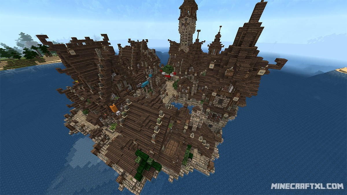 Medieval Village Map Download For Minecraft 1716