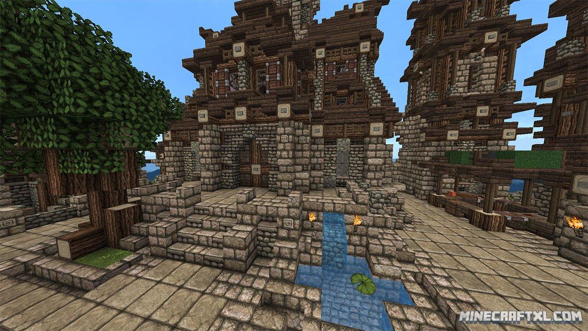 Medieval Village Map Download For Minecraft 1 7 1 6