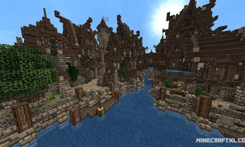 Medieval Village Map