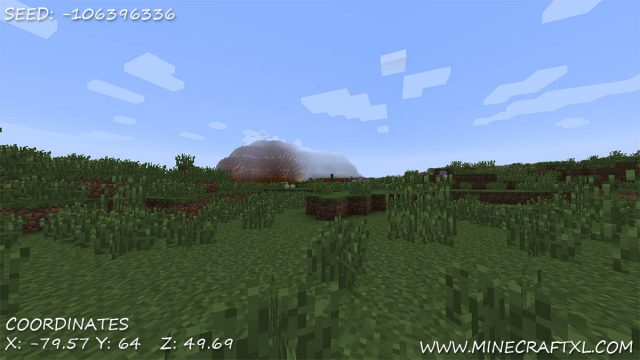 Mesa Biome Seed -106396336 for Minecraft