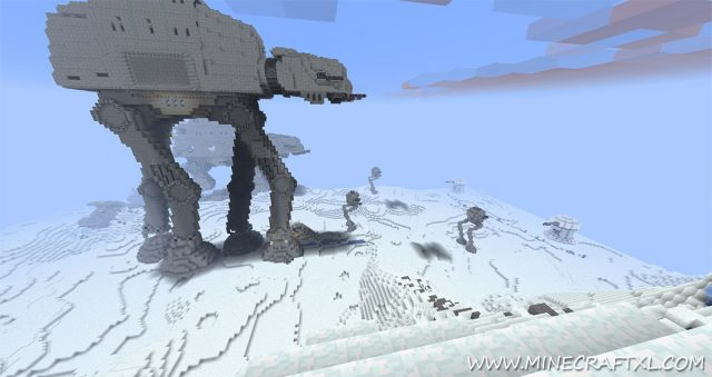 Mine Wars Resource and Texture Pack for Minecraft