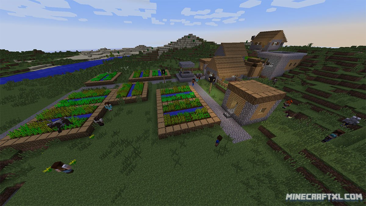 Minecraft Comes Alive Mod Download for Minecraft 112.112.12