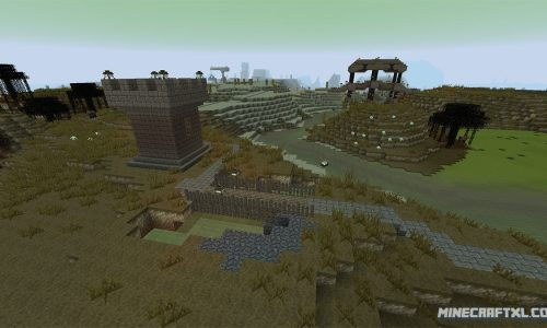 Mineout Resource Pack for Minecraft 1.8