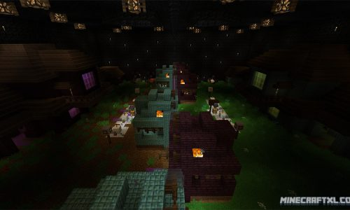 Monster Industries PvP Map for Minecraft 1.8