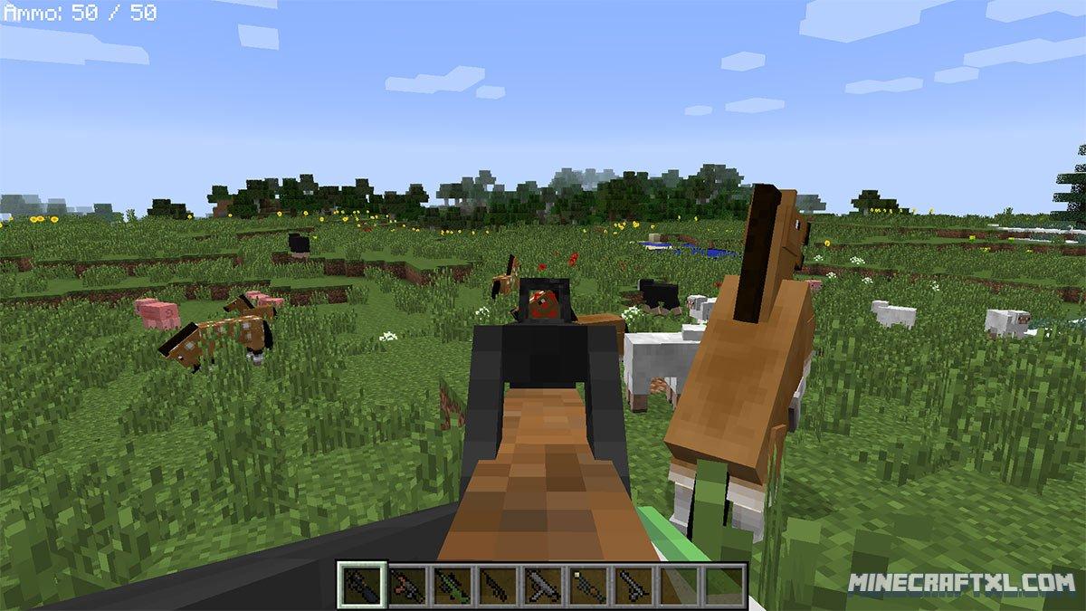 скачать мод stefinus guns mod для minecraft 1 7 10