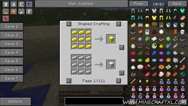 Not Enough Items Mod