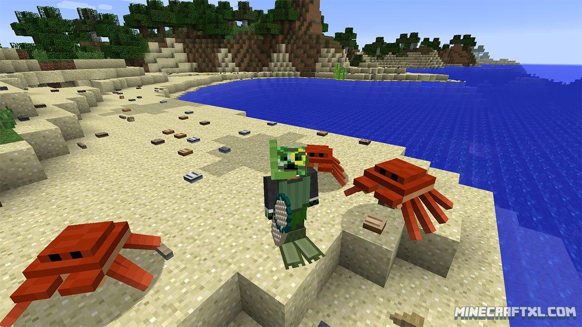 Oceancraft Mod Download for Minecraft 1 7 10