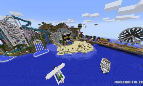 Olann Island Map