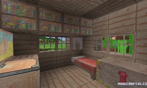 Pencil Pack Resource Pack for Minecraft 1.8