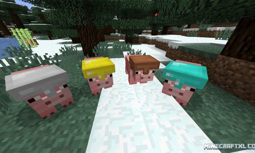 Pig Companion Mod for Minecraft 1.7.2/1.6.4