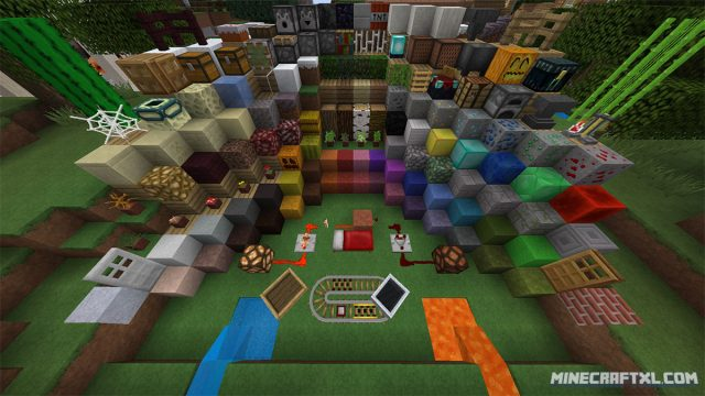 Pix3lCraft HD Resource Pack
