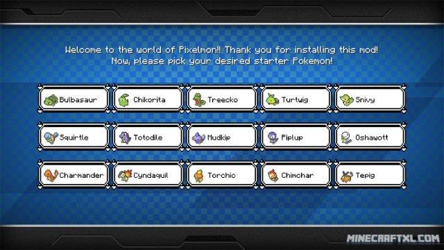 Pixelmon Mod