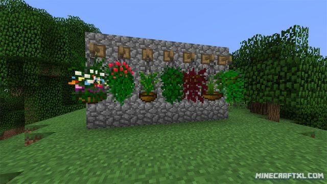 Plant Mega Pack Mod for Minecraft