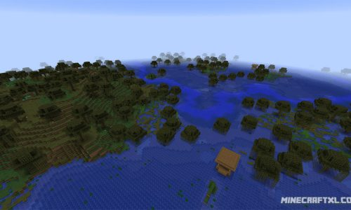 Quad Witch Hut Seed for Minecraft 1.8