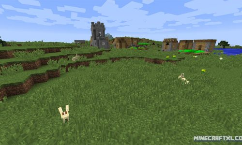 Bunny Seed for Minecraft 1.8: 1926444278